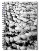 Alltocumulus Cloud Patterns Spiral Notebook
