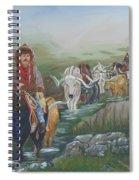 Along The Bozeman Trail Spiral Notebook