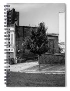 Alton Street In Black And White  Spiral Notebook