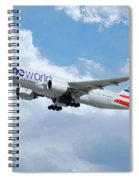 American Airlines Boeing 777 Spiral Notebook