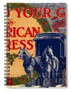 American Express Shipping Spiral Notebook