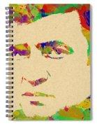 American Legend Johnny Cash Spiral Notebook