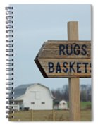 Amish Sign Spiral Notebook
