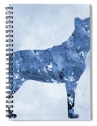Amstaff-blue Spiral Notebook