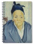 An Old Woman Of Arles Arles, February 1888 Vincent Van Gogh 1853 - 1890 Spiral Notebook