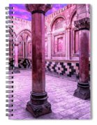 Ancient Evening Spiral Notebook