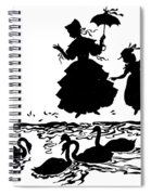 Andersen: Ugly Duckling Spiral Notebook