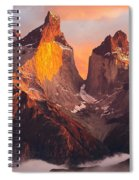 Andes Mountains Spiral Notebook
