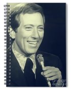 Andy Williams, Singer Spiral Notebook
