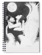 Angel Embrace Spiral Notebook