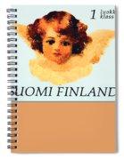 Angel Spiral Notebook