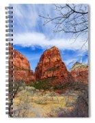 Angels Landing Spiral Notebook