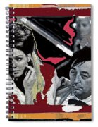 Angie Dickinson Robert Mitchum Pose Collage Young Billy Young Old Tucson Arizona 1968-2013 Spiral Notebook