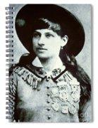Annie Oakley Spiral Notebook