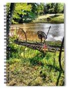 Antique Farm Equipment 1 Spiral Notebook