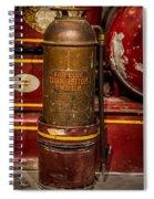 Antique Fire Extinguisher Spiral Notebook