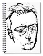 Anton Von Webern Spiral Notebook