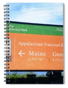 Appalachian National Scenic Trail Spiral Notebook