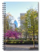 April In Rittenhouse Square Spiral Notebook