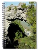 Arch Rock Mackinac Island Spiral Notebook
