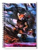 Archer, Spiral Notebook