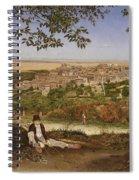 Ariccia, Near Rome, Italy Spiral Notebook