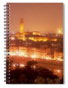 Arno River Florence Italy Spiral Notebook