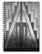 Art Deco Door Spiral Notebook
