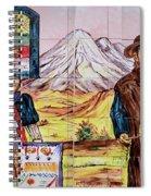 Artisan Market In Quito Spiral Notebook