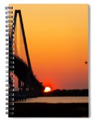 At The End Of The Bridge Spiral Notebook