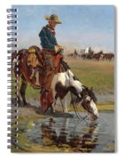 At The Watering Hole Spiral Notebook