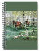 At Work Nikolai Petrovich Bogdanov-belsky Spiral Notebook
