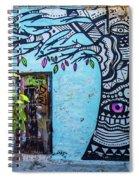 Athens Graffiti Spiral Notebook