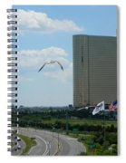 Atlantic City Skyline Spiral Notebook