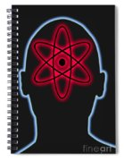 Atom Diagram Spiral Notebook