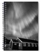 Aurora Tasiilaq Greenland 7839 Spiral Notebook