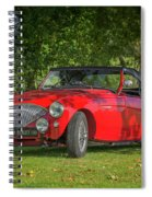 Austin Healey 100 Spiral Notebook