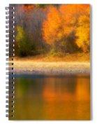 Autumn At Sawmill Lake Spiral Notebook