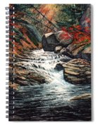 Autumn Brook Spiral Notebook