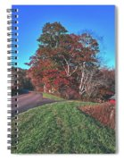 Autumn Countryside - North Carolina Spiral Notebook