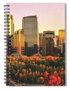 Autumn In Calgary Spiral Notebook