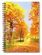 Autumn In Tuscany Spiral Notebook