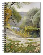Autumn Landscape In The Vicinity Of Eshar Spiral Notebook