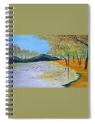 Autumn Landscape Spiral Notebook