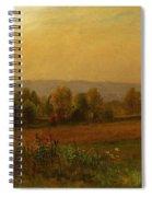 Autumn Landscape New England Spiral Notebook