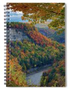 Autumn On The Genesee II Spiral Notebook