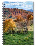 Autumn This Side Of Heaven Spiral Notebook