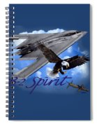 B-2 Spirit Spiral Notebook