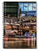 B-29 Bockscar Spiral Notebook