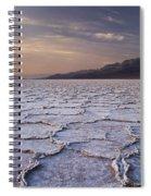 Badwater Salt Flats 1 Spiral Notebook